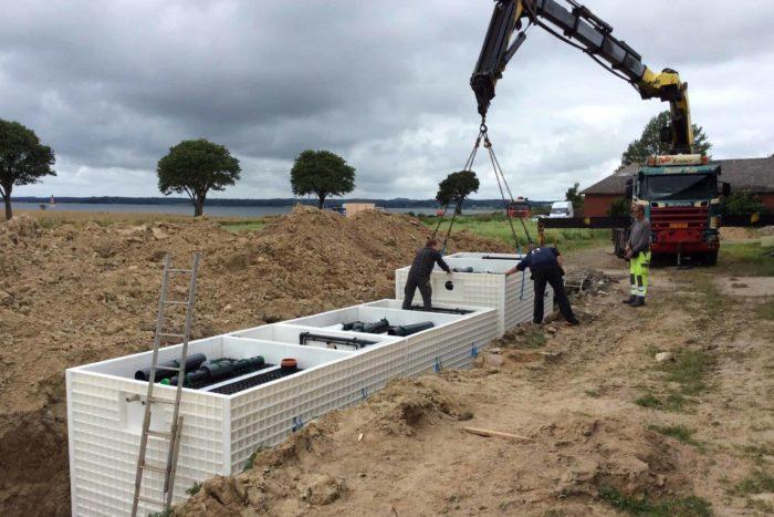 Jupiter wastewater system at Mon Broen Campsite Denmark - 7
