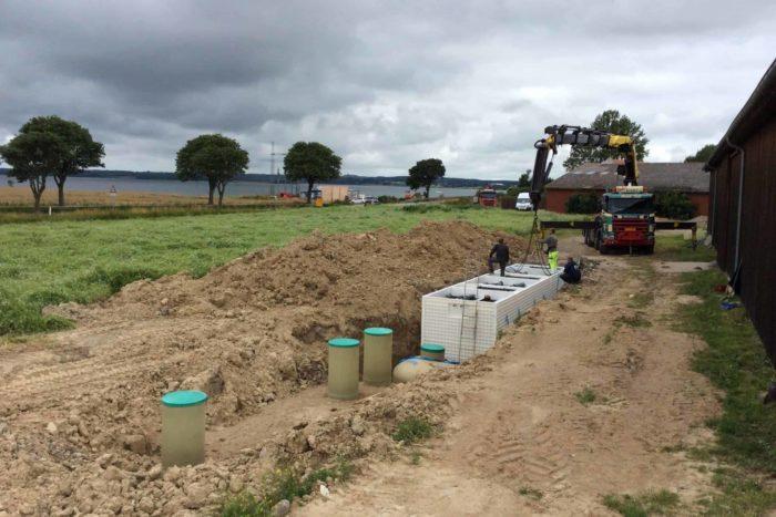 Jupiter wastewater system at Mon Broen Campsite Denmark - 8