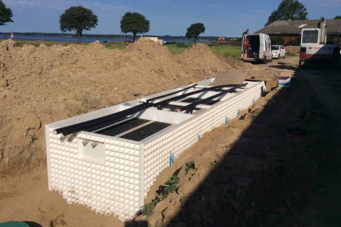 Jupiter wastewater system at Mon Broen Campsite Denmark - 9