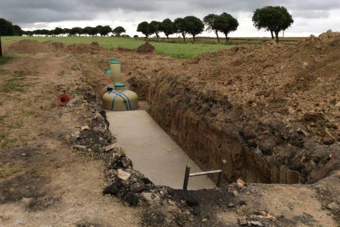 Jupiter wastewater system at Mon Broen Campsite Denmark