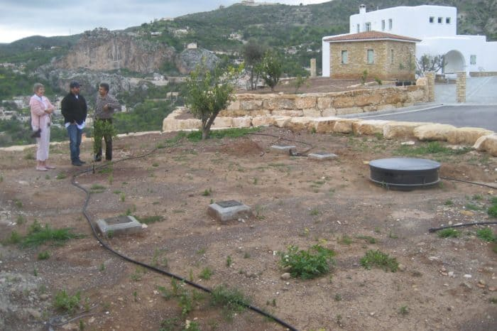 Venus in Cypres water used for drip irrigation